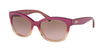 Ralph RA5218 Cat Eye Sunglasses  158014-PURPLE GRADIENT/PURPLE 55-17-135 - Color Map purple/reddish