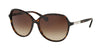 Ralph RA5220 Round Sunglasses  137813-DARK TORTOISE 57-15-135 - Color Map havana