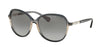 Ralph RA5220 Round Sunglasses  158411-SMOKE GRADIENT/SMOKE 57-15-135 - Color Map grey