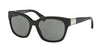 Ralph RA5221 Square Sunglasses  137711-BLACK 54-17-135 - Color Map black