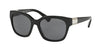 Ralph RA5221 Square Sunglasses  137781-BLACK 54-17-135 - Color Map black