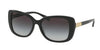 Ralph RA5223 Rectangle Sunglasses  13778G-BLACK 57-16-140 - Color Map black