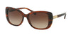 Ralph RA5223 Rectangle Sunglasses  162513-STRIATED BROWN 57-16-140 - Color Map brown