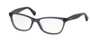 Ralph RA7057 Cat Eye Eyeglasses  1103-TRASPARENT VIOLET 52-16-140 - Color Map violet
