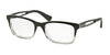 Ralph RA7069 Square Eyeglasses  1448-GRADIENT BLACK 53-18-135 - Color Map black