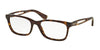 Ralph RA7069 Square Eyeglasses  502-DARK HAVANA 53-18-135 - Color Map havana