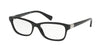 Ralph RA7079 Pillow Eyeglasses  1377-BLACK 53-16-140 - Color Map black