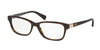 Ralph RA7079 Pillow Eyeglasses  1585-DARK HAVANA 53-16-140 - Color Map havana