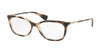Ralph RA7085 Pillow Eyeglasses  1378-DARK HAVANA 51-16-140 - Color Map havana