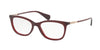 Ralph RA7085 Pillow Eyeglasses  1674-BURGUNDY 51-16-140 - Color Map burgundy