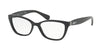 Ralph RA7087 Pillow Eyeglasses  1377-BLACK 52-16-140 - Color Map black