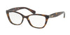 Ralph RA7087 Pillow Eyeglasses  1378-SHINY DARK HAVANA 54-16-140 - Color Map havana