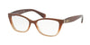 Ralph RA7087 Pillow Eyeglasses  1676-PEARL BROWN GRADIENT 52-16-140 - Color Map brown