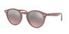 Ray-Ban RB2180 Phantos Sunglasses  62297E-OPAL ANTIQUE PINK 49-21-145 - Color Map pink