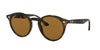 Ray-Ban RB2180 Phantos Sunglasses  710/83-SHINY DARK HAVANA 49-21-145 - Color Map havana