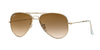 Ray-Ban RB3479 Pilot Sunglasses  001/51-ARISTA 58-14-145 - Color Map gold