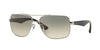 Ray-Ban RB3483 Square Sunglasses  003/32-SILVER 60-16-140 - Color Map silver
