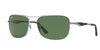Ray-Ban RB3515 Square Sunglasses  004/71-GUNMETAL 61-17-145 - Color Map gunmetal