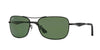 Ray-Ban RB3515 Square Sunglasses  006/71-MATTE BLACK 61-17-145 - Color Map black