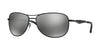 Ray-Ban RB3519 Pilot Sunglasses  006/6G-MATTE BLACK 59-15-135 - Color Map black