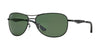 Ray-Ban RB3519 Pilot Sunglasses  006/9A-MATTE BLACK 59-15-135 - Color Map black