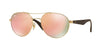 Ray-Ban RB3536 Phantos Sunglasses  112/2Y-MATTE GOLD 55-18-145 - Color Map gold