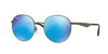 Ray-Ban RB3537 Phantos Sunglasses  004/55-GUNMETAL 51-19-145 - Color Map gunmetal