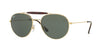 Ray-Ban RB3540 Phantos Sunglasses  001-GOLD 56-18-140 - Color Map gold