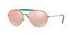 Ray-Ban RB3540 Phantos Sunglasses  198/7Y-SHINY BRONZE 56-18-140 - Color Map bronze/copper