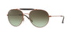 Ray-Ban RB3540 Phantos Sunglasses  9002A6-MEDIUM BRONZE 56-18-140 - Color Map bronze