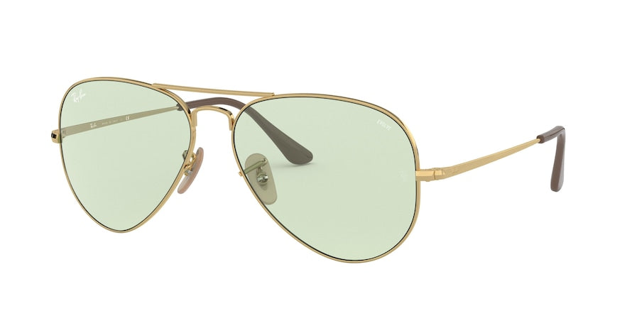 Ray-Ban AVIATOR METAL II RB3689 Pilot Sunglasses  001/T1-GOLD 58-14-140 - Color Map gold