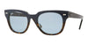 Ray-Ban RB4168 Square Sunglasses  107762-BLUE ON HAVANA 50-20-145 - Color Map blue