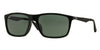 Ray-Ban RB4228F Rectangle Sunglasses  901/71-BLACK 58-18-140 - Color Map black