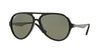 Ray-Ban RB4235 Pilot Sunglasses  601S58-MATTE BLACK 57-14-135 - Color Map black