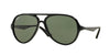 Ray-Ban RB4235 Pilot Sunglasses  601-BLACK 57-14-135 - Color Map black