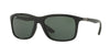 Ray-Ban RB8352F Square Sunglasses  621971-BLACK 57-18-140 - Color Map black