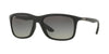 Ray-Ban RB8352F Square Sunglasses  622011-MATTE BLACK 57-18-140 - Color Map black