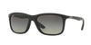 Ray-Ban RB8352 Square Sunglasses  622011-MATTE BLACK 57-18-140 - Color Map black