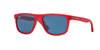 Ray-Ban Junior RJ9057S Square Sunglasses  197/80-RED DEMI SHINY 50-15-130 - Color Map red