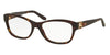 Ralph Lauren RL6113Q Cat Eye Eyeglasses  5003-DARK HAVANA 54-17-140 - Color Map havana