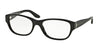 Ralph Lauren RL6126B Square Eyeglasses  5001-BLACK 53-18-140 - Color Map black