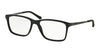 Ralph Lauren RL6133 Rectangle Eyeglasses  5001-BLACK 56-17-145 - Color Map black