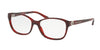 Ralph Lauren RL6136 Square Eyeglasses  5522-STRIPPED RED HAVANA 55-16-135 - Color Map havana