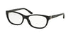 Ralph Lauren RL6137 Pillow Eyeglasses  5001-BLACK 52-16-135 - Color Map black