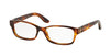 Ralph Lauren RL6139 Rectangle Eyeglasses  5007-STRIPPED HAVANA 52-16-135 - Color Map havana