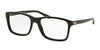 Ralph Lauren RL6141 Square Eyeglasses  5001-BLACK 55-18-145 - Color Map black