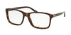 Ralph Lauren RL6141 Square Eyeglasses  5003-DARK HAVANA 55-18-145 - Color Map havana