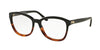 Ralph Lauren RL6142 Square Eyeglasses  5581-BLACK GRADIENT HAVANA 53-17-140 - Color Map havana