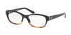 Ralph Lauren RL6148 Pillow Eyeglasses  5581-BLACK GRADIENT HAVANA 53-17-140 - Color Map black