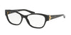 Ralph Lauren RL6151 Square Eyeglasses  5001-BLACK 52-16-140 - Color Map black